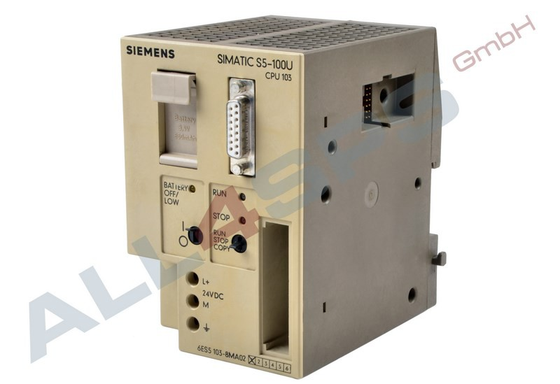 SIEMENS SIMATIC S5 1P 6ES5 103-8MA02-Gebraucht//Used