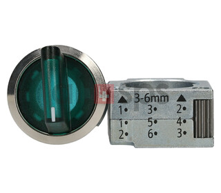 SIEMENS ILLUMINATED W. HOLDER, 3SB3501-2DA41