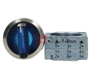 SIEMENS SELECTOR SWITCH, 3SB3501-2HA51