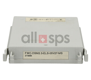 INDRAMAT FIRMWARE MODULE, FWC-DSM2.3-ELS-05V27-MS