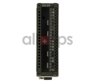 AEG MODICON ANALOG INPUT MODULE, 6728-042.270397, ADU205