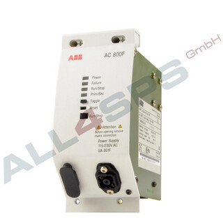 ABB AC 800F, POWER SUPPLY, SA 801F, 3BDH000011R1