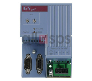 B&R AUTOMATION CAN BUS CONTROLLER, 7EX470.50-1
