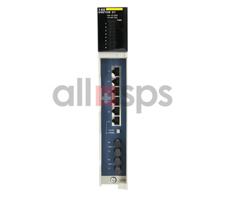 SCHNEIDER AUTOMATION ETHERNET SWITCH, 140Q8PENETSW01