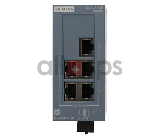 SCALANCE XB005 UNMANAGED INDUSTRIAL ETHERNET SWITCH,...